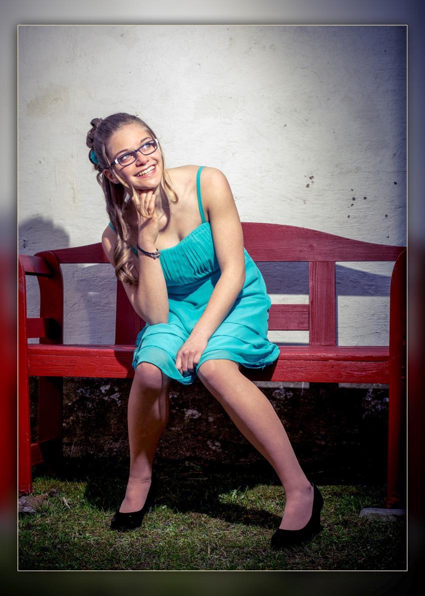 Jugendweihe Fotografie Foto mit Biss